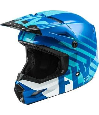 FLY RACING KINETIC THRIVE HELMET BLUE/WHITE