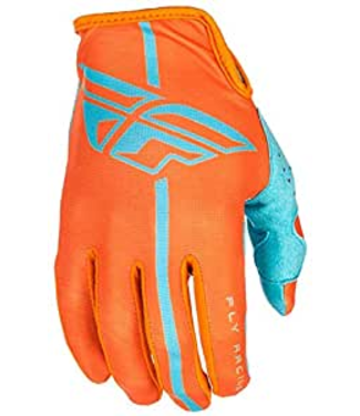 FLY RACING LITE GLOVES ORANGE/BLUE M-9
