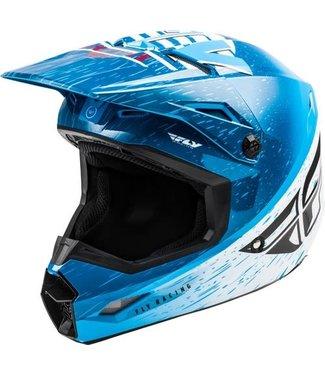 FLY RACING KINETIC K120 HELMET BLUE/WHITE/RED XS