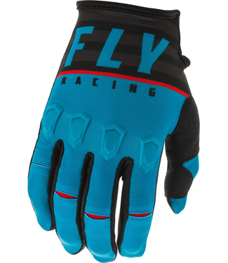 FLY RACING Kinetic K120 Gloves - BLUE/BLACK/RED