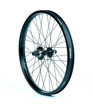 TALL ORDER Dynamics LHD Cassette Wheel - Black With Silver Spoke Nipples 9 Tooth