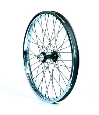 TALL ORDER Dynamics Front Wheel - Black Hub With Chrome Rim