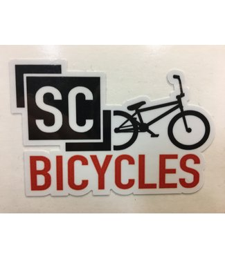 SC BICYCLES SHOP STICKER