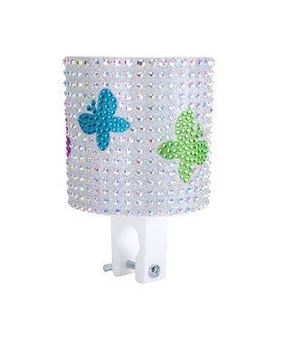 Cruiser Candy CUP HOLDER - RHINESTONE BUTTERFLY