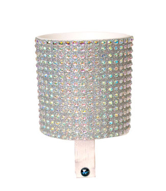 Cruiser Candy CUP HOLDER - CLEAR RHINESTONE