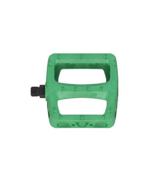 TWISTED PC PEDALS KELLY GREEN 9/16