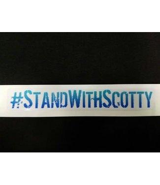 #STANDWITHSCOTTY STICKER - BLUE (SCOTTY CRANMER)