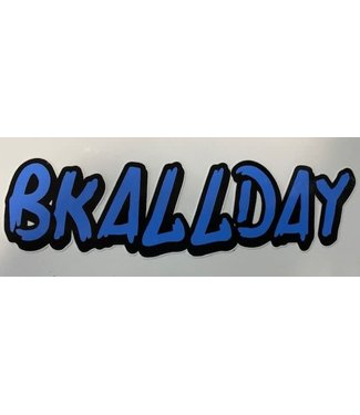 BKALLDAY STICKER (BROOKLYN)
