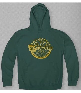 SC BICYCLES SC BICYCLES GREEN/YELLOW HOODIE