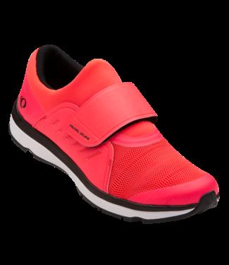 Pearl Izumi VESTA STUDIO - Women Cycling Shoe - BLACK / ATOMIC RED - 40.5