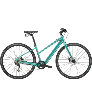 CANNONDALE 2020 Quick Neo SL 2 Remixte Turquoise Large