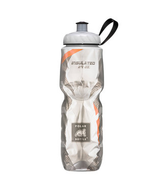 Polar Bottle Thermal Insulated Bottle - Carbon/Orange