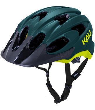 Kali Protectives Pace Helmet - Matte Teal/Yellow