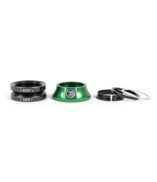 The Shadow Conspiracy STACKED HEADSET - BRITISH RACING GREEN