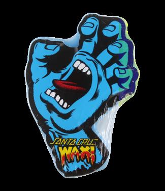 SANTA CRUZ SCREAMING HAND CURB WAX -BLUE