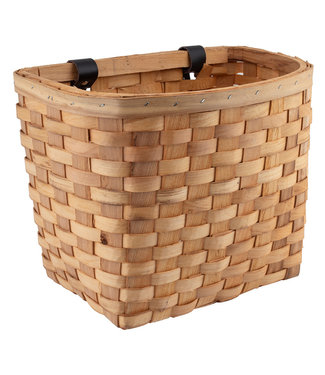 Wooden Classic Basket - Natural