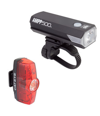 CATEYE LIGHT CATEYE HL-EL085RC TL-LD635R AMPP500/RAPID-MINI COMBO BK