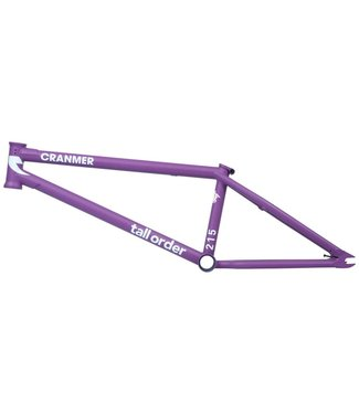 TALL ORDER 215 V3 Frame - Cranmer Matt Purple