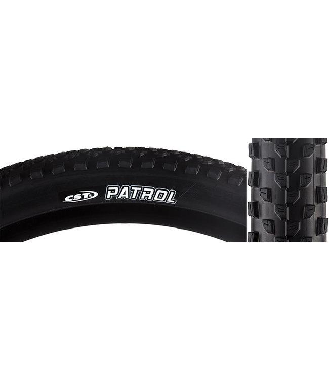 CST Patrol Tire 27.5 X 2.25 Single Compound 27tpi Steel Bead Black for sale online