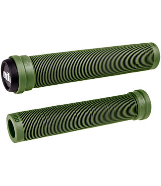 ODI Soft X-Longneck Grips - Army Green, 160mm