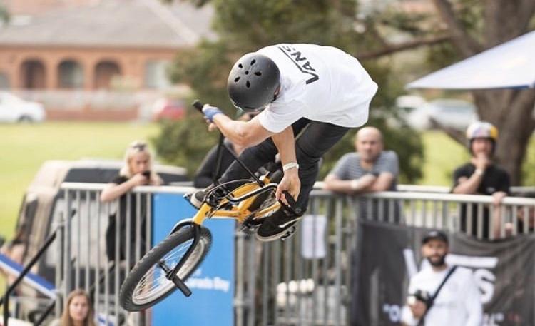 Matty Cranmer Pro BMX Rider