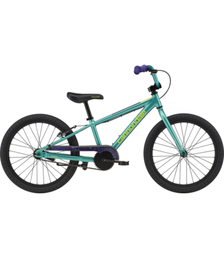 CANNONDALE 20 Girls Kids Trail SS Turquoise
