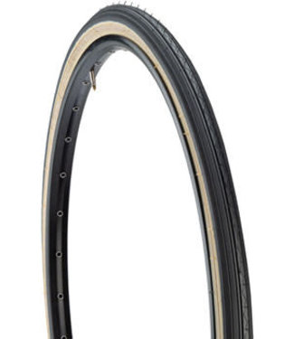 Kenda Street K40 Tire - 26 x 1-3/8, Clincher, Wire, Black/Tan, 30tpi