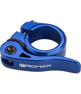 Promax QR-1 Quick Release Seat Clamp 25.4mm Blue