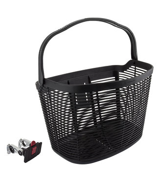 HD Plastic Basket QR Alloy Bracket