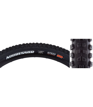MAXXIS Aggressor Tire - 29 x 2.5, Tubeless, Folding, Black, Dual, DD, Wide Trail