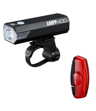 CATEYE LIGHT HL-EL084RC TL-LD620R AMPP400/RAPID-MICRO COMBO BK