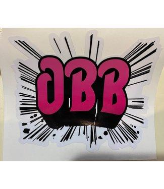 OBB RUSH STICKER