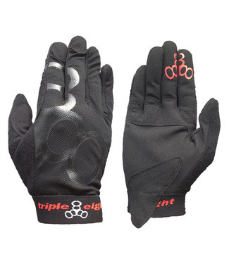 Triple Eight EXOSKIN GLOVES BLACK