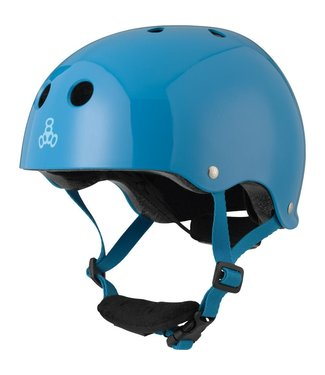 Triple 8 LIL 8 YOUTH HELMET BLUE GLOSSY