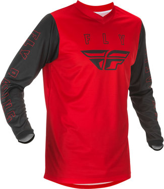 FLY RACING YOUTH F-16 JERSEY RED/BLACK