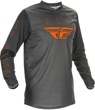 FLY RACING YOUTH F-16 JERSEY GREY/ORANGE