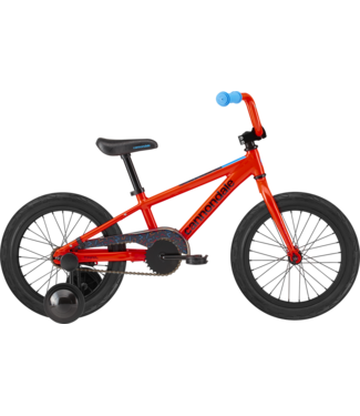 """CANNONDALE 16"""" Kids Trail SS Acid Red"""