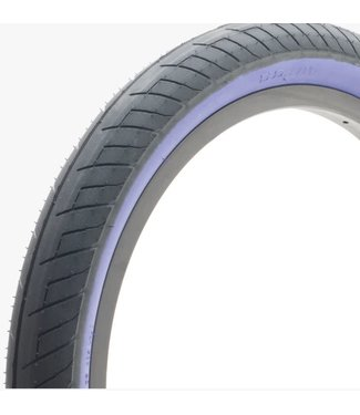 "DUO SVS 20"" Tire - 2.25"" Black w/ Purple Sidewall"