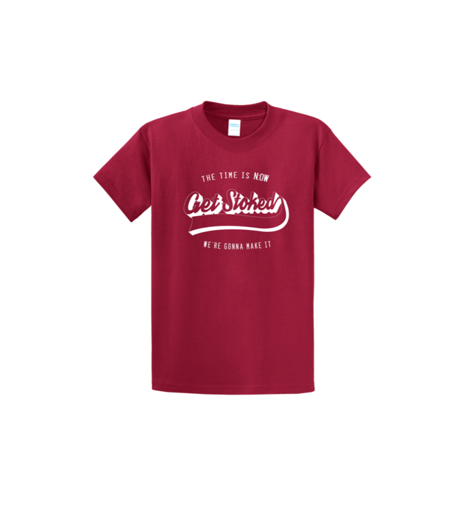 N:OW Get Stoked Shirt Red