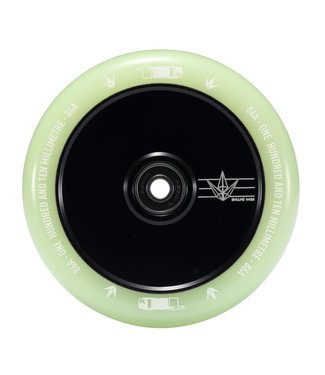 SCOOTER WHEEL HOLLOW CORE 110MM - GLOW (PAIR)