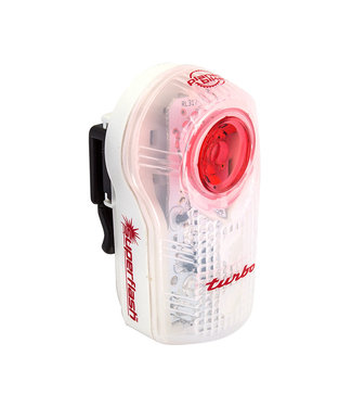 PLANET BIKE LIGHT RR SUPERFLASH TURBO BLINKY WH1w2LED