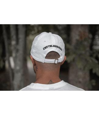 CANTSLOWDOWN CSD DAD CAP WHITE