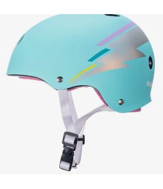 Triple 8 THE CERTIFIED SWEATSAVER - COLOR COLLECTION TEAL HOLOGRAM XS-S