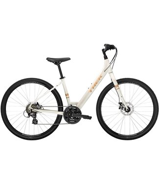 TREK 2021 Verve 1 Disc Lowstep White - Large