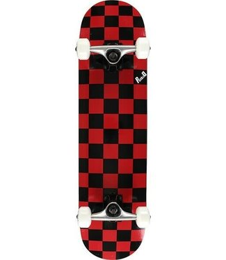 PUNKED CHECKERED COMPLETE  7.75 RED