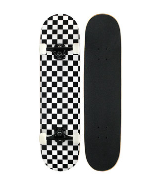 PUNKED CHECKERED COMPLETE  7.75 white