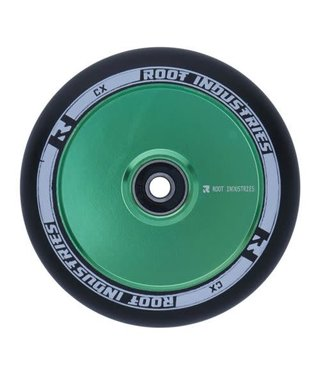 ROOT INDUSTRIES AIR WHEELS - 110MM - BLACK/GREEN