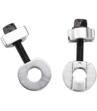 """Promax C-2 Chain Tensioners for 3/8""""/10mm Axles Silver"""