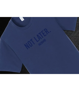 N:OW Not Later T Shirt