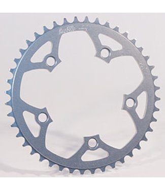 PROFILE RACING 5 BOLT CHAINRING SILVER - 45T/110MM